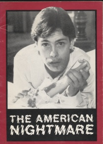 american nightmare essays on the horror film Title, american nightmare: essays on the horror film author, andrew britton  publisher, festival of festivals, 1979 original from, the university of michigan.