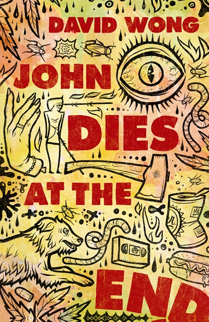 comedy in john dies at the end by david wong 'john dies at the end' was written by one of the site's writer's, and concentrates everything to love about the site into his book in the book david and his friend john are roped into a series of horrifying events around town, as people die or go missing in gruesome ways.