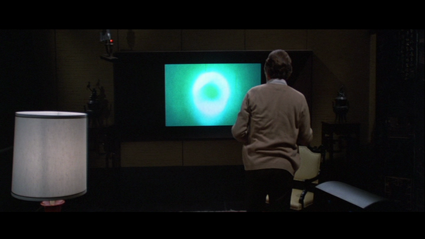 Jordan belson's ALLURES (USA 1961) as it appears in Donald Cammell's DEMON SEED (USA 1977)