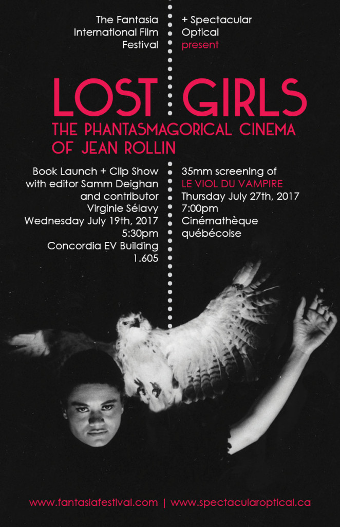 LOST GIRLS Fantasia poster
